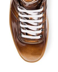 Bally | Brown Lace-up Sneakers for Men | Lyst