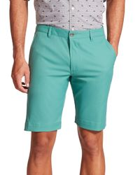 Saks Fifth Avenue - Green Golf Shorts for Men - Lyst