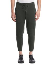 Issey Miyake - Multicolor Milan Wool Moto Sweatpants for Men - Lyst