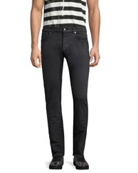 """Versace - Gray New Fit"""" Slim-fit Jeans for Men - Lyst"""