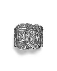 David Yurman - Metallic Shipwreck Coin Ring for Men - Lyst