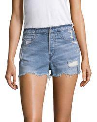 3x1 - Blue Shelter Denim Shorts - Lyst