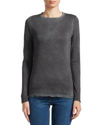 Cotton Citizen - Gray Classic Crew Vintage Sweater - Lyst