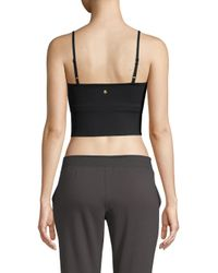 Spiritual Gangster - Black Practice Cropped Camisole - Lyst