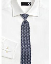 Ferragamo - Blue Rabbit & Balloon Printed Silk Tie for Men - Lyst