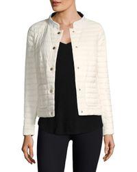 Herno - Black Matte And Shiny Basic Reversible Jacket - Lyst