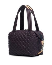 MZ Wallace - Purple Classic Quilted Shoulder Bag - Lyst