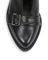 LD Tuttle - Black The Pale Buckled Leather Shoes - Lyst
