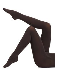 Falke - Gray Pure Matte 100 Opaque Tights - Lyst
