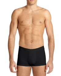 Derek Rose - Black Stretch Cotton Hipster Briefs for Men - Lyst