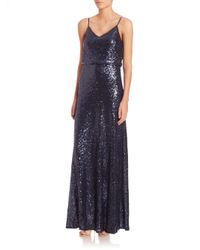 Jenny Yoo - Black Jules Sequin Tulle Gown - Lyst