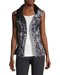 BLANC NOIR - Black Tempest Packable Down Vest - Lyst