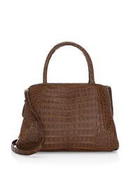 Nancy Gonzalez - Brown Medium Center Zip Shoulder Bag - Lyst