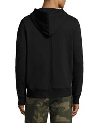 Ovadia And Sons - Black Cotton Sweatshirt for Men - Lyst