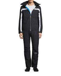 J.Lindeberg - Multicolor Sitkin Waterproof Houndstooth Jacket for Men - Lyst
