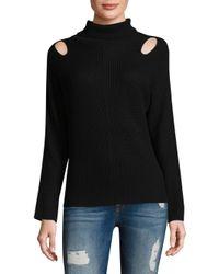 Ella Moss - Black Riley Sweater - Lyst