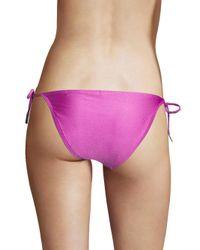 Zimmermann - Purple Separates String Bikini Bottom - Lyst