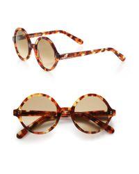 Cutler & Gross - Brown 52mm Octagonal Sunglasses - Lyst