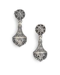 Konstantino - Metallic Classics Sterling Silver Drop Earrings - Lyst