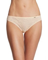 Chantelle - Natural Molitar Bikini Bottom - Lyst