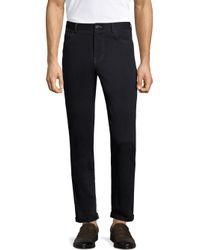 Michael Bastian - Blue Stretch Sateen Pants for Men - Lyst