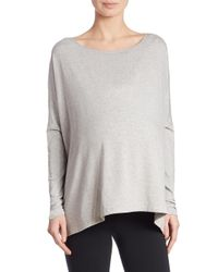 HATCH - Gray Everyday Long Sleeve Tee - Lyst