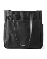 Filson   Black Open-top Tote Bag   Lyst