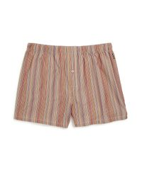 Paul Smith - Multicolor Striped Shorts - Lyst