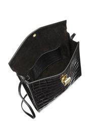 Victoria Beckham - Black Postino Leather Shoulder Bag - Lyst