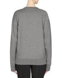 KENZO - Gray Beaded Tiger Sweatshirt - Lyst