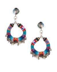 DANNIJO   Metallic Ipyana Drop Earrings   Lyst
