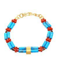 Stephanie Kantis - Blue Bonsai Semi-precious Multi-stone Necklace - Lyst