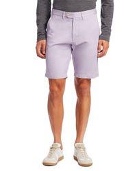 Saks Fifth Avenue - Purple Collection Flat Front Shorts for Men - Lyst