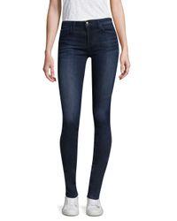 Joe's - Blue Twiggy Tall Mid-rise Skinny Jeans - Lyst