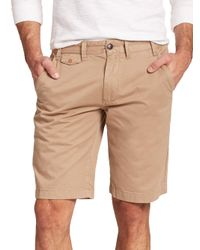 Barbour | Brown Neuston Cotton Shorts for Men | Lyst