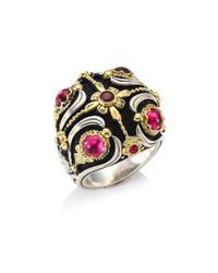Konstantino - Multicolor Nemesis Pink Tourmaline Ring - Lyst