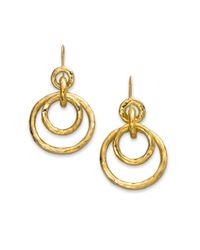 Ippolita - Metallic Women's Glamazon 18k Yellow Gold Mini Jet Set Drop Earrings - Gold - Lyst