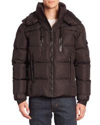 Sam. | Black Quilted Goose Down Jacket for Men | Lyst
