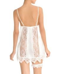 In Bloom - White Here Comes The Bride Chemise - Lyst