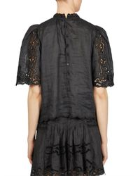 Isabel Marant - Black Marlo Top - Lyst