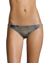 Made By Dawn - Multicolor Coral Tie-dyed Basic Bikini Bottom - Lyst