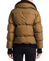 Burberry Green Shackleton Quilted Puffer Jacket