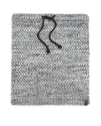 Bickley + Mitchell | Gray Faux Sherpa-lined Woven Snood for Men | Lyst