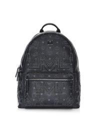 MCM - Men's Medium Stark Gunta Studded Backpack - Black for Men - Lyst