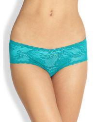 Cosabella | Blue Trenta Low-rise Hotpants | Lyst