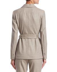 Akris - Multicolor Women's Sibylle Self-tie Jacket - Fauteuil - Size 12 - Lyst
