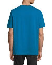DIESEL - Men's Cereck Cotton Tee - Blue for Men - Lyst