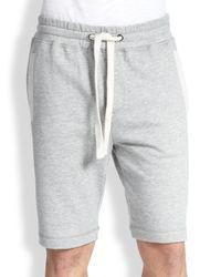 2xist - Gray 2(x)ist Men's Terry Shorts - Black Heather for Men - Lyst
