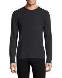 Zachary Prell - Blue Huxley Colorblock Wool Sweater for Men - Lyst