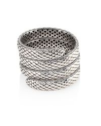 John Hardy - Metallic Legends Cobra Collection Multiple Coil Bracelet - Lyst